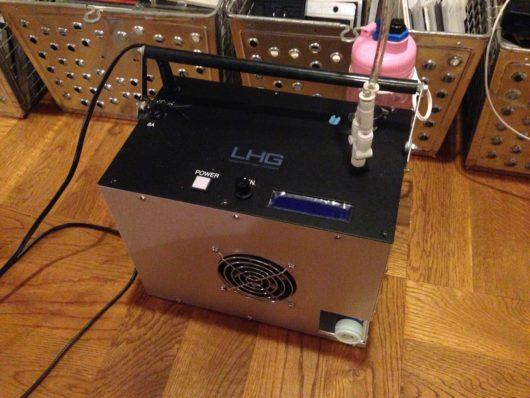 LHGの水素マシン